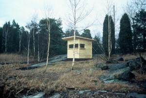 Gömslet vid Långängen. Foto: Magnus Rignell